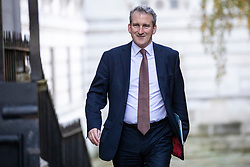 © Licensed to London News Pictures. 13/11/2018. London, UK. Education Secretary Damian Hinds arrives on Downing Street for the Cabinet meeting. Photo credit: Rob Pinney/LNP