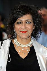 Image ©Licensed to i-Images Picture Agency. 08/07/2014. London, United Kingdom. Meera Syal during the press night for 'The Curious Incident Of The Dog In The Night-Time' at Gielgud Theatre. Picture by Chris Joseph / i-Images