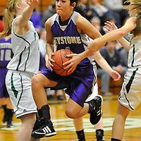 2.6.2012 Keystone at Elyria Catholic Girls Varsity Basketball