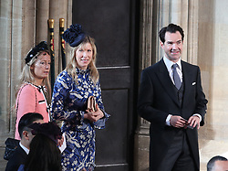 The wedding of Princess Eugenie to Jack Brooksbank at St George's Chapel in Windsor Castle. 12 Oct 2018 Pictured: Jimmy Carr. Photo credit: WPA POOL / MEGA TheMegaAgency.com +1 888 505 6342