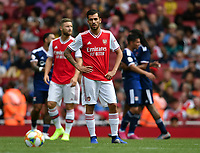Football - 2019 Emirates Cup - Arsenal vs. Lyon<br /> <br /> Arsenal's Dani Ceballos dejected as Olympique Lyonnais' Moussa Dembele scores his side's second goal, at the Emirates Stadium.<br /> <br /> COLORSPORT/ASHLEY WESTERN