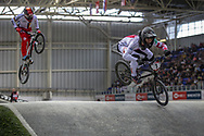 #7 (GRAF David) SUI at Round 2 of the 2019 UCI BMX Supercross World Cup in Manchester, Great Britain