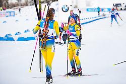 March 10, 2019 - –Stersund, Sweden - 190310 Linn Persson of Sweden and Hanna Öberg of Sweden looks dejected after the Women's 10 km Pursuit during the IBU World Championships Biathlon on March 10, 2019 in Östersund..Photo: Petter Arvidson / BILDBYRÃ…N / kod PA / 92254 (Credit Image: © Petter Arvidson/Bildbyran via ZUMA Press)
