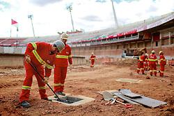 Foto das reformas do Beira Rio feita em 17 de outubro de 2012. O Estádio Beira Rio receberá jogos da Copa do Mundo de Futebol 2014. FOTO: Jefferson Bernardes/Preview.com