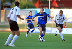 Milan Osterc of Gorica during 2nd match of 1st round Intertoto Cup soccer match between ND Gorica and Hibernians FC at Sports park, on June 28,2008, in Nova Gorica, Slovenia. (Photo by Vid Ponikvar / Sportal Images)