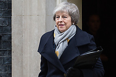 2019-01-15 Theresa May leaves Downing Street