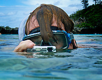 Natural Pool Oro - lle de Pins (Isle of Pines)  New Caledonia