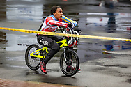 2021 UCI BMXSX World Cup<br /> Round 4 at Bogota (Colombia)<br /> Semis<br /> ^we#200 HOWELL, Shanayah (ARU, WE)