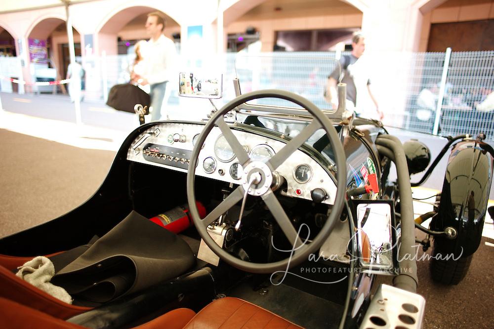 7th Grand Prix de Monaco Historique The 'Red Dragon' owned by Michael Dee. Aston Martin Speed 1936