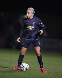 Manchester United Women's Alex Greenwood in action