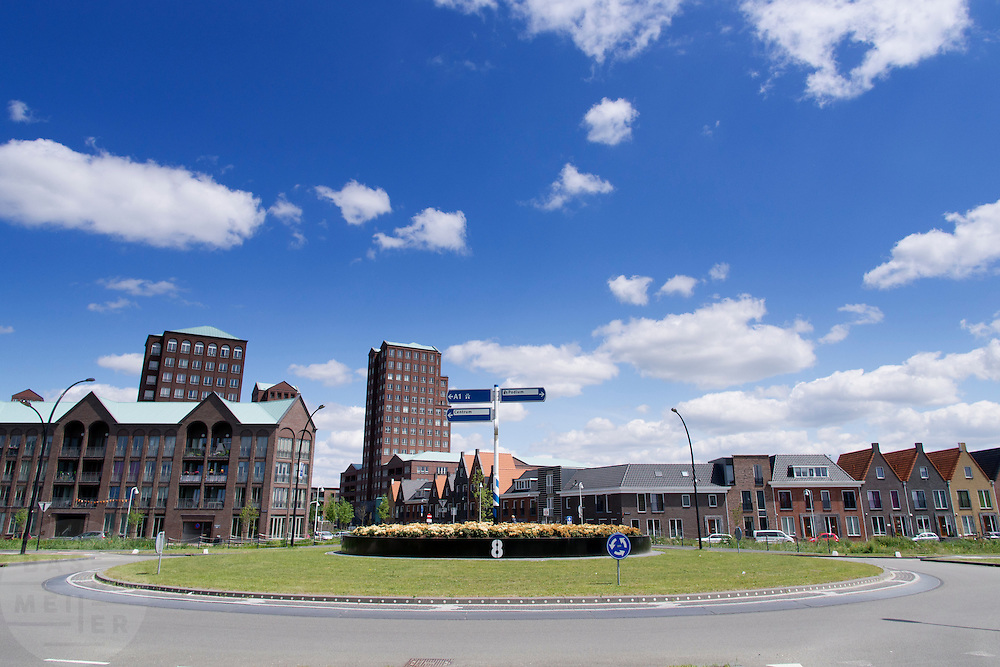 De nieuwbouwwijk Amersfoort Vathorst.<br /> <br /> The suburb Amersfoort Vathorst.