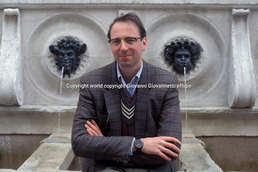 Pier Vittorio Tondelli <br />world copyright Giovanni Giovannetti/effigie / Writer Pictures<br /> <br /> NO ITALY, NO AGENCY SALES / Writer Pictures<br /> <br /> NO ITALY, NO AGENCY SALES