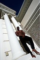 ATHLETICS - LOS ANGELES (USA) - HSI GROUP - EXCLUSIF - 200105 - PHOTO: PHILIPPE MILLEREAU / DIGITALSPORT, ATO BOLDON (TRI) - AT HOME