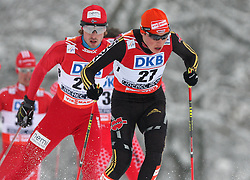 Eric Frenzel of Germany at Nordic Combined Individual Gundersen NH, 10 km, at FIS Nordic World Ski Championships Liberec 2008, on February 22, 2009, in Vestec, Liberec, Czech Republic. (Photo by Vid Ponikvar / Sportida)