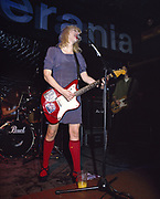 Courtney Love.  At Hole's First London show. 1993 for Vox Magazine
