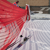 Bend Endurance Academy Director Bill Walburton found an easy way to get around.  ©Brian Nelson
