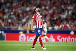 August 25, 2018 - Diego Costa of Atletico de Madrid lamenting during the spanish league, La Liga, football match between Atletico de Madrid and Rayo Vallecano on August 25, 2018 at Wanda Metropolitano stadium in Madrid, Spain. (Credit Image: © AFP7 via ZUMA Wire)