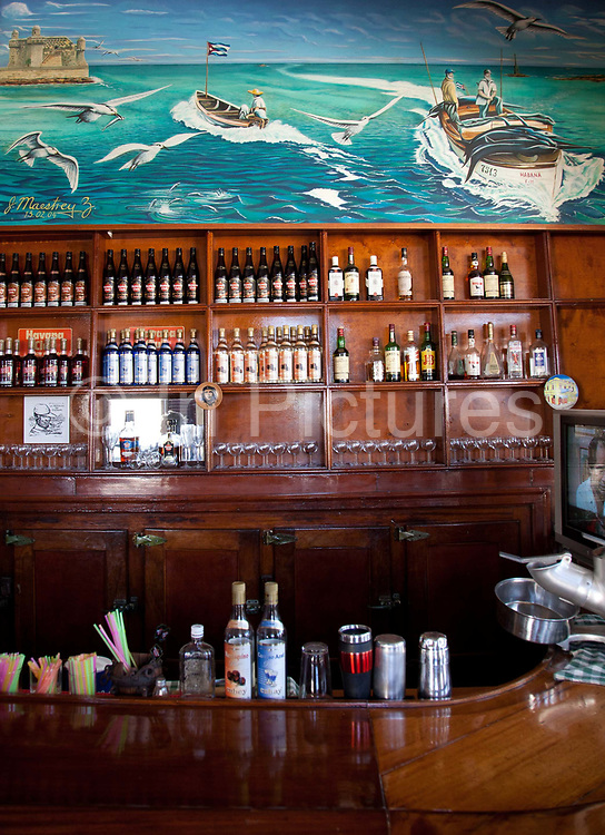Bar in Cjoimar - a small fishing village close to Havana where Hemingway spent a lot of time. It is said that this is where he got inspiration for 'The Old Man and the Sea'.