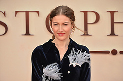 © Licensed to London News Pictures. 20/09/2017. London, UK. Actress KELLY  MACDONALD attends the world film premiere of Goodbye Christopher Robin in Leicester Square. Photo credit: Ray Tang/LNP