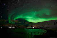 Northern Lights from Telegrafgukta in Tromsø. Image taken with a Nikon D800 and 24 mm f/1.4 lens (ISO 800, 24 mm, f/2, 8 sec)..