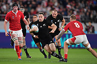 Rugby Union - 2019 Rugby World Cup - Bronze Final (Third Place Play-Off): New Zealand vs. Wales<br /> <br /> New Zealand's Ben Smith evades the tackle of Wales' Ross Moriarty, at Tokyo Stadium, Tokyo.<br /> <br /> COLORSPORT/ASHLEY WESTERN