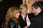 KELLY HOPPEN, NICKY CLARKE AND ALAN DAVIDSON, Veuve Cliquot Business Woman Award. Berkeley Hotel 8 April 2008.  *** Local Caption *** -DO NOT ARCHIVE-© Copyright Photograph by Dafydd Jones. 248 Clapham Rd. London SW9 0PZ. Tel 0207 820 0771. www.dafjones.com.