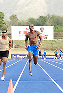 Usain Bolt training with friends in Kingston Jamaica March'11