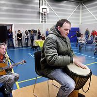 Nederland, Bennebroek , 21 november 2014.<br /> Talentenjacht voor medewerkers en patienten van GGZinGeest instelling op locatie Bennebroek.<br /> Foto:Jean-Pierre Jans
