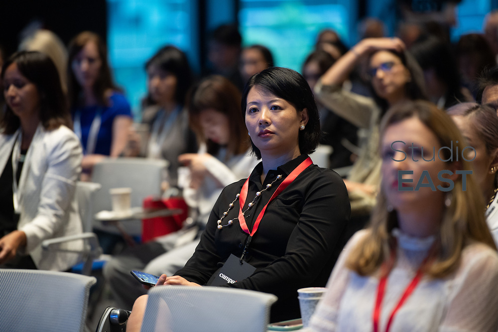Campaign's Opening Remarks by Atifa Silk, Campaign APAC during the Women Leading Change Conference at Google Headquarters, Singapore, Singapore, on 31 May 2018. Photo by Weixiang Lim/Studio EAST