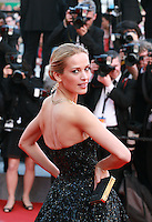 Petra Nemcova at the Two Days, One Night (Deux Jours, Une Nuit) gala screening red carpet at the 67th Cannes Film Festival France. Tuesday 20th May 2014 in Cannes Film Festival, France.