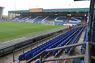 Oldams ground before the EFL Sky Bet League 1 match between Oldham Athletic and Scunthorpe United at Boundary Park, Oldham, England on 28 October 2017. Photo by George Franks.