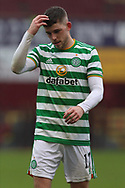 Ryan Christie (Celtic) during the Scottish Premiership match between Motherwell and Celtic at Fir Park, Motherwell, Scotland on 8 November 2020.