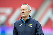 Luton Town assistant manager Steve Rutter before the EFL Sky Bet League 1 match between Sunderland AFC and Luton Town at the Stadium Of Light, Sunderland, England on 12 January 2019.