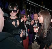 LUKE ABBY; FRANCESCA ROSS,NME Awards after-party. Sanderson Hotel. 29 February 2012