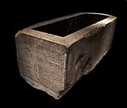 Sarcophagus case of Djehapimu, royal audit officer 746-332 BC granite.