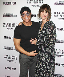 "Amazon Prime Video ""Jean-Claude Van Johnson"" Premiere at The Egyptian Theatre in Hollywood, California on 10/9/17. 09 Oct 2017 Pictured: Jean-Claude Van Damme, Kat Foster. Photo credit: River / MEGA TheMegaAgency.com +1 888 505 6342"
