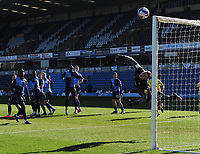 Football - 2020 / 2021 Sky Bet Championship - Wycombe Wanderers vs Norwich City - Adams Park<br /> <br /> Wycombe, goalkeeper, David Stockdale makes a finger tip save from a Norwich free kick<br /> <br /> Credit : COLORSPORT/ANDREW COWIE