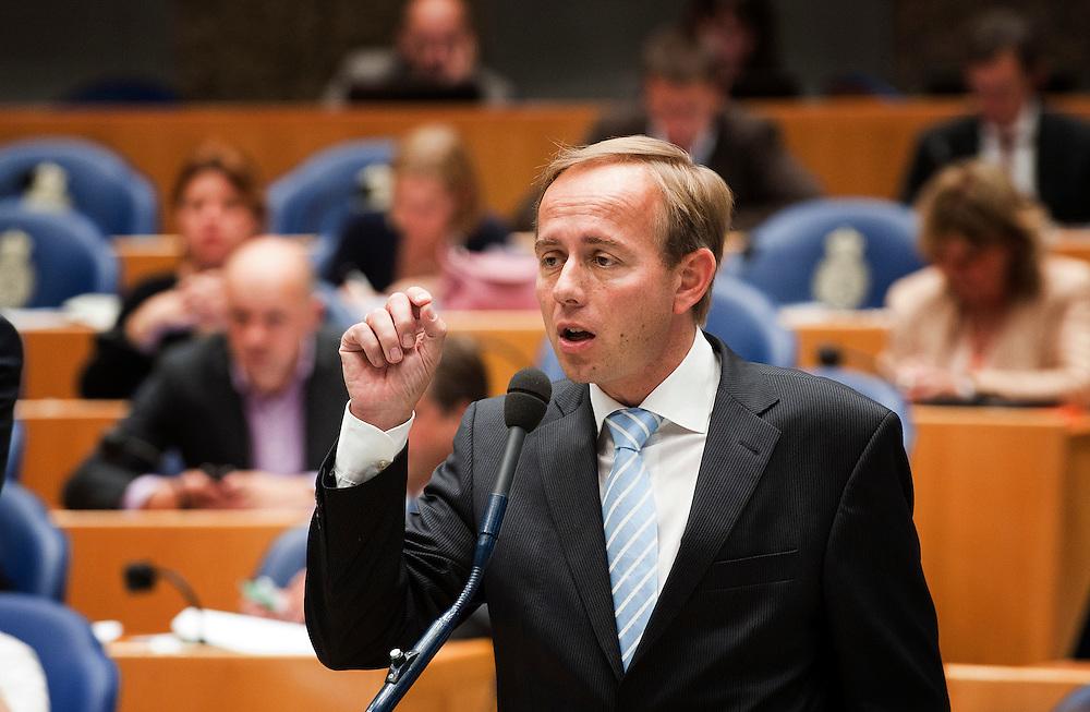 Nederland, Den Haag, 21 sept   2011.Algemene Politieke Beschouwingen in de tweede kamer..SGP fractieleider Kees van der Staaij .Foto (c): Michiel Wijnbergh