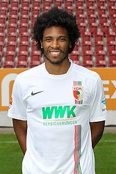 08.07.2015, WWK Arena, Augsburg, GER, 1. FBL, FC Augsburg, Fototermin, im Bild Francisco da Silva Caiuby #30 (FC Augsburg) // during the official Team and Portrait Photoshoot of German Bundesliga Club FC Augsburg at the WWK Arena in Augsburg, Germany on 2015/07/08. EXPA Pictures © 2015, PhotoCredit: EXPA/ Eibner-Pressefoto/ Kolbert<br /> <br /> *****ATTENTION - OUT of GER*****