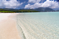 Crystal Waters on Beach Seychelles