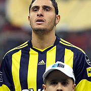 Fenerbahce's Ozer HURMACI during their Turkish superleague soccer derby match Galatasaray between Fenerbahce at the Turk Telekom Arena in Istanbul Turkey on Friday, 18 March 2011. Photo by TURKPIX