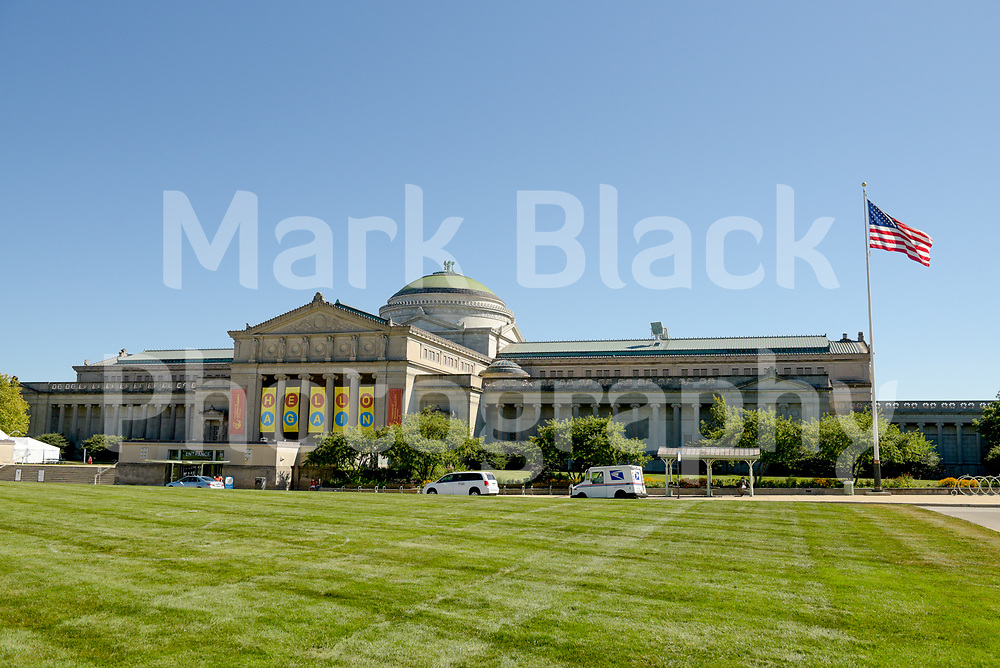 Museum of Science and Industry in Chicago on Wednesday, Aug. 19, 2020.  Photo by Mark Black