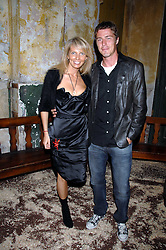 Tennis player MARAT SAFIN and ANASTASIA RAGOZINA at the Stephen Webster launch party of his latest jewellery collection during the London Jewellery Week, at Wilton's Music Hall, Graces Alley, Off Ensign Street, London E1 on 12th June 2008.<br /><br />NON EXCLUSIVE - WORLD RIGHTS