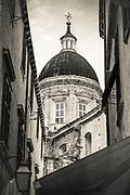 Dubrovnik Cathedral dome, old town Dubrovnik, Dalmatian Coast, Croatia