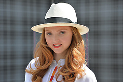 LILY COLE at the 2014 RHS Chelsea Flower Show held at the Royal Hospital Chelsea, London on 19th May 2014.