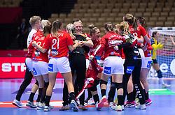 EHF Euro 2020 Main Round group I match between Denmark and Sweden in Jyske Bank Boxen, Herning, Denmark on December 11, 2020. Photo Credit: Allan Jensen/EVENTMEDIA.