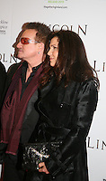 Bono, Ali Hewson, at the Lincoln film premiere Savoy Cinema in Dublin, Ireland. Sunday 20th January 2013.