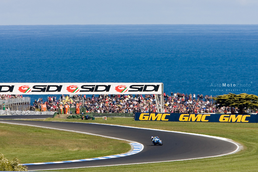 Round 14 of the MotoGP World Championship.  The Australian MotoGP held at Phillip Island between September 15 - September 17, 2006.<br /> <br /> ::Images shown are not post processed::Contact me for the full size file and required file format (tif/jpeg/psd etc) <br /> <br /> ::For anything other than editorial usage, releases are the responsibility of the end user and documentation/proof will be required prior to file delivery.