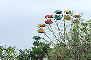Ferris wheel at an amusement park, Yerevan, Armenia