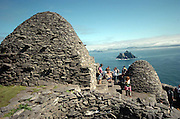 A view looking East from Skellig Michael over towards The Small Skellig Rocks off Portmagee in County Kerry..Picture by Don MacMonagle...info: photo 2007